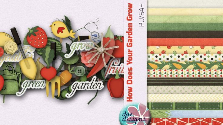 How Does Your Garden Grow by Dae Designs