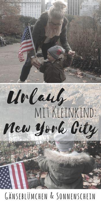 Urlaub mit Kleinkind in New York City