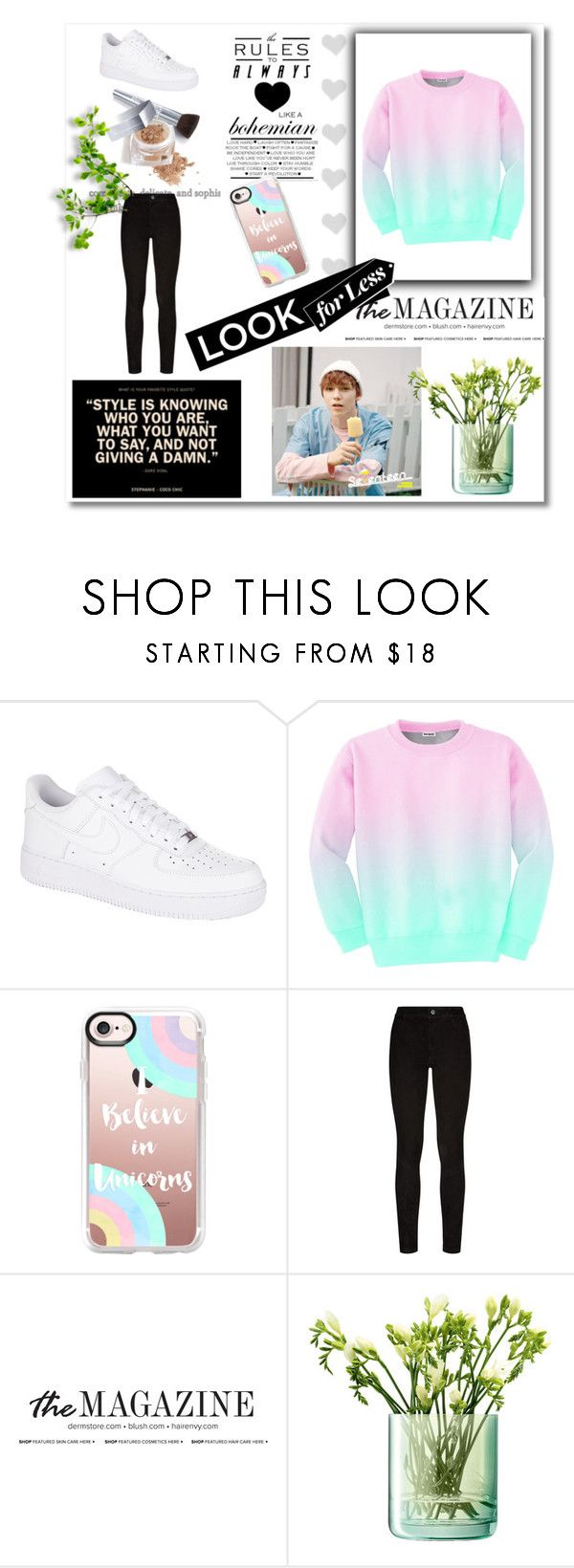 """Seventeen"" by mabelitabts on Polyvore featuring moda, NIKE, Aloha From Deer, Casetify, Paige Denim, LSA International y Christian Dior"