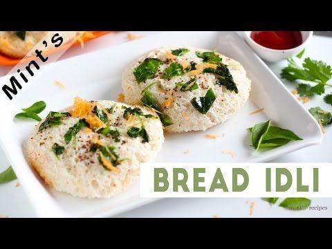 Bread Idli Recipe In Hindi - Indian Breakfast Recipes - Snacks Recipes Indian-Bread Recipes - Ep-137 - YouTube