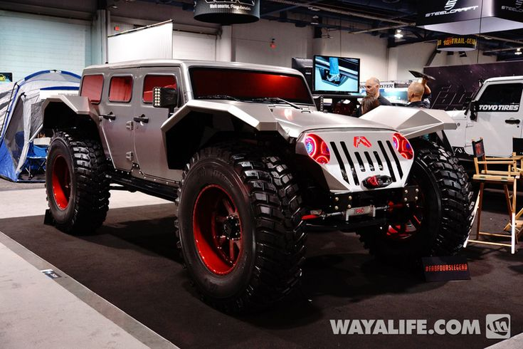 2014 SEMA Fab Fours Legend Jeep JK Wrangler Unlimited ...