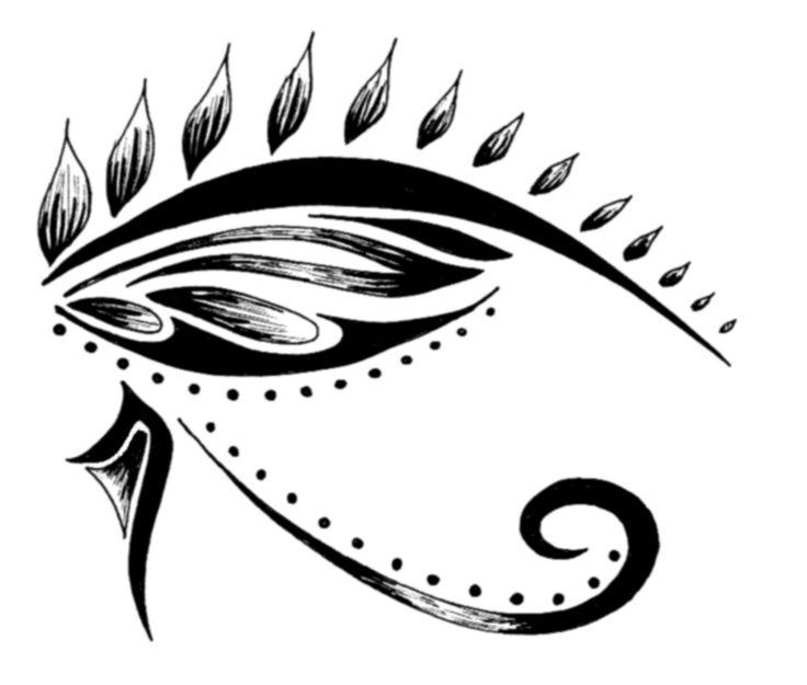 eye of horus.....tattoo?? sacrifice, healing, restoration, and protection.