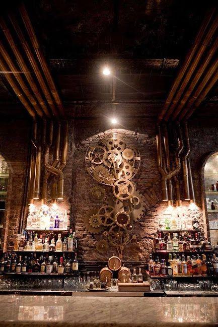 Steampunk Tendencies Victoria Brown Bar: Buenos Aires, Argentina [Via Facebook]