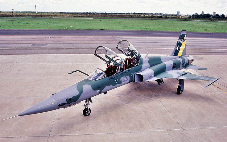 Caça F5EM Northrop da FAB.