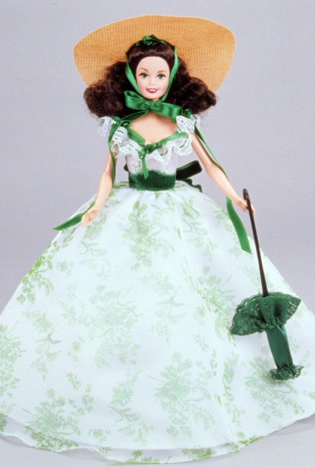 Barbie® as Scarlett O'Hara (in BBQ Dress) in Gone With The Wind (GWTW Collection, 1994)