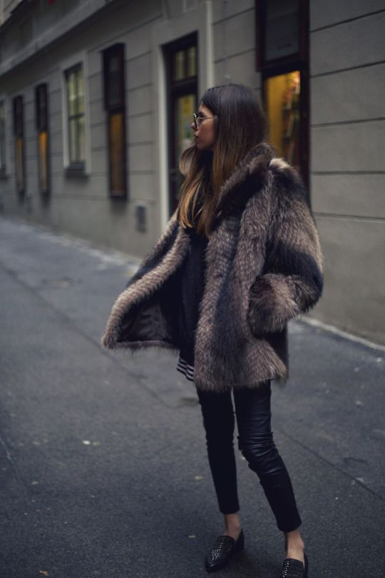 Would love to get a great faux fur coat but I'm not sure I'd wear it much.