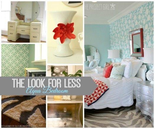 Aqua Color Bedroom Ideas: 17 Best Ideas About Aqua Bedrooms On Pinterest
