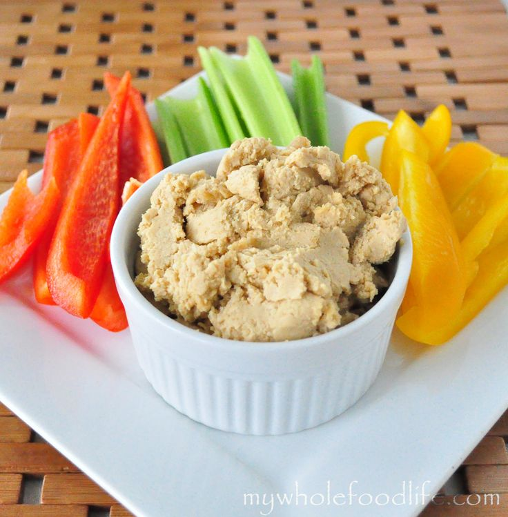 Save money and make your own hummus.  It only takes a few minutes.  Vegan and gluten free.