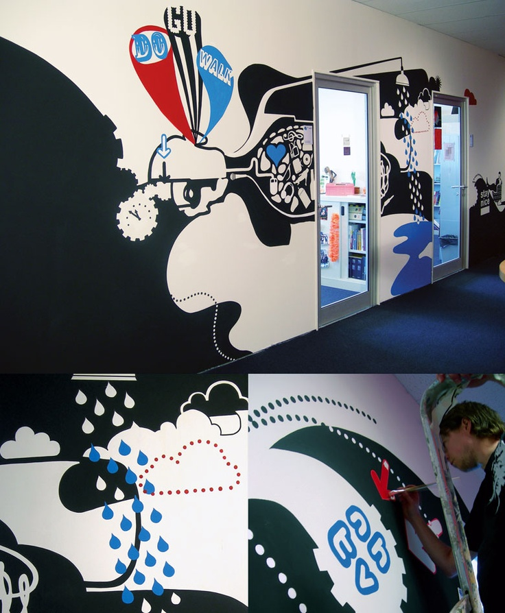 Stay Nice Mural Art | GRAPHIC INSPIRATION