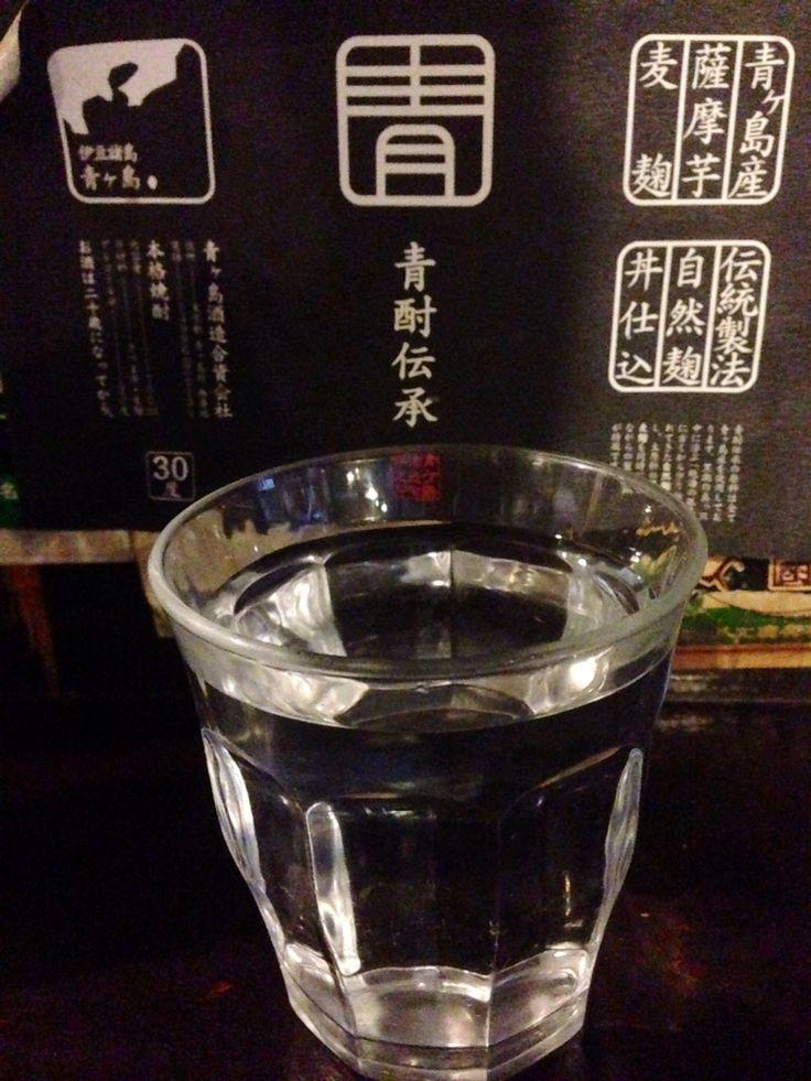 青酎!青ヶ島の島酒。