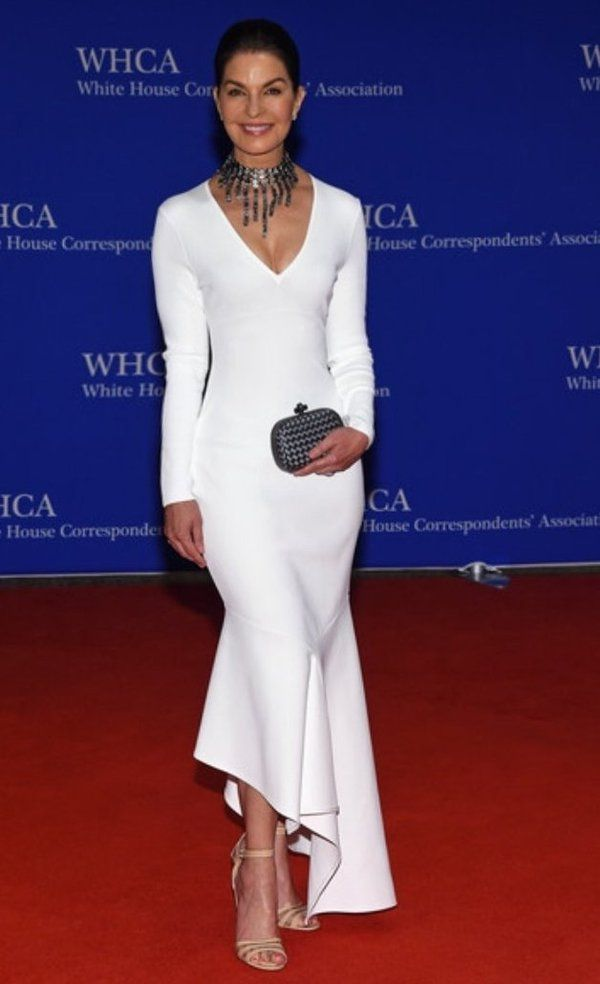 Sela Ward correspondense dinner in white house (em)