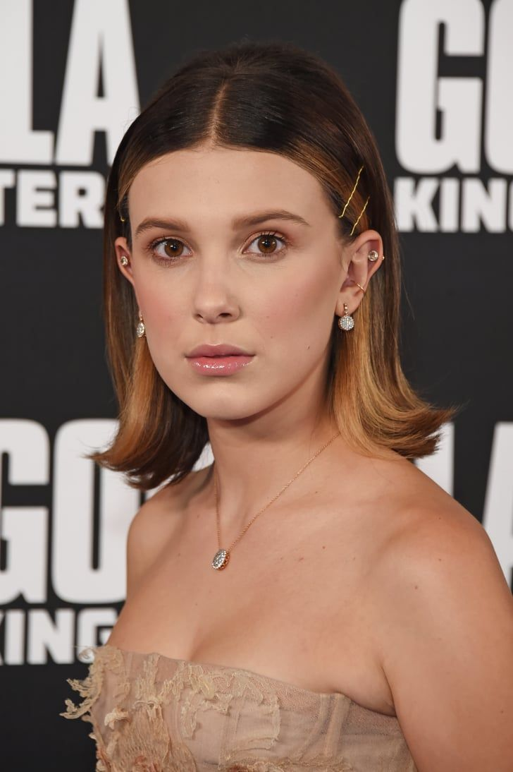 Millie Bobby Brown Is Showing Us How To Wear Hair Clips Millie Bobby Brown Bobby Brown Bobby Brown Stranger Things