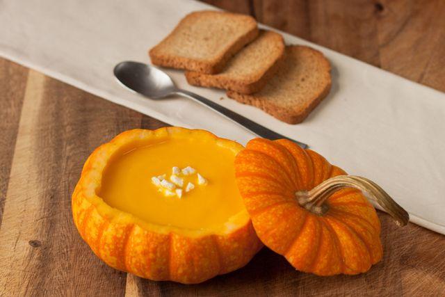5 recetas de calabaza para Halloween: Crema de calabaza