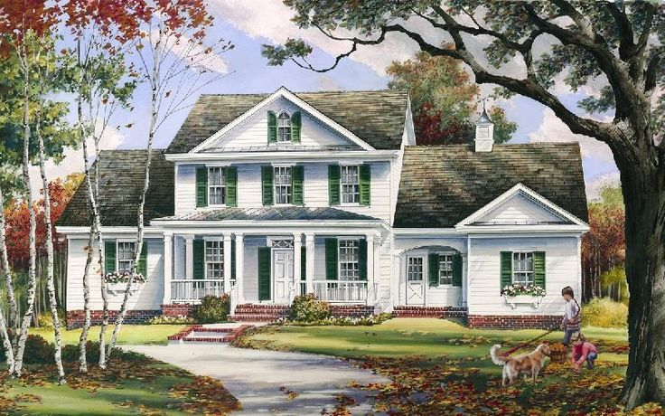 William E Poole Designs - Autumn Hill - this home can be built fast...