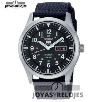 ⬆️😍✅ Seiko SNZG15K1 😍⬆️✅ Maravilloso ejemplar perteneciente a la Colección de RELOJES SEIKO ➡️ PRECIO 143.2 € En Oferta Limitada en 😍 https://www.joyasyrelojesonline.es/producto/seiko-snzg15k1-reloj-analogico-de-caballero-automatico-con-correa-textil-negra-sumergible-a-100-metros/ 😍 ¡¡Corre que vuelan!! #Relojes #RelojesSeiko #Seiko