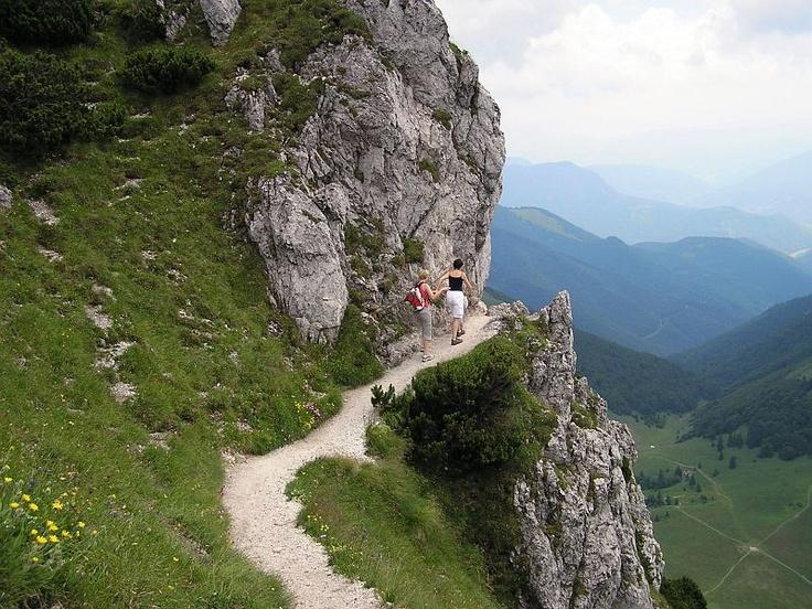 Trekking at Rozsutec.