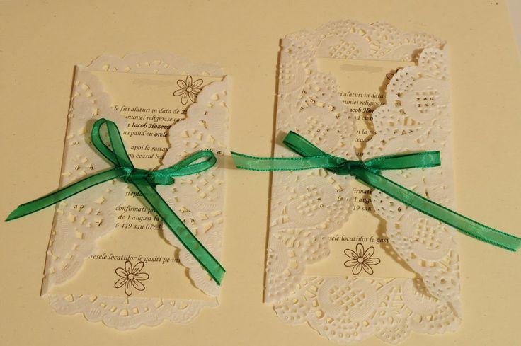 (Wedding) Invitations: DIY tutorial