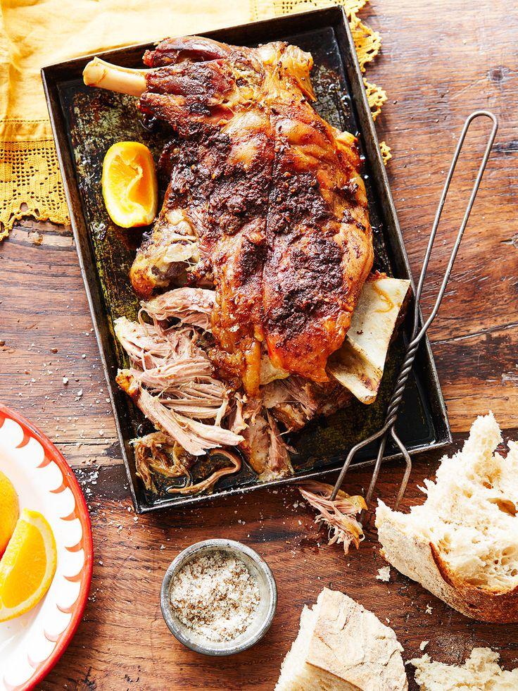 Lamb roast arab style dress