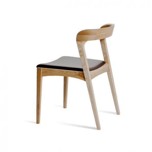Brauner leder akzent stuhl set von 2 m belideen for Brauner stuhl