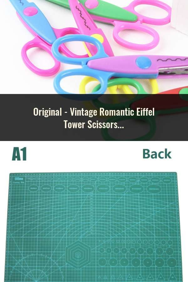 Vintage Romantic Eiffel Tower Scissors Diy Handmade Antique Scissors Stitch Scissors Classic Sewing Embroidery Scissor