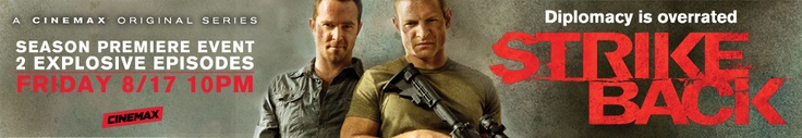 Strike Back second season to premiere August 17 10PM on Cinemax