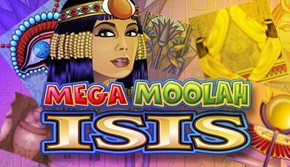 Mega Moolah Isis  You can find it at Quatro Casino.Bonus Promotion - 700 FREE SPINS – Quatro Casino is awarding all new players an incredible up to 700 Free Spins and up to €$100 match bonus, as soon you sign up and make your first deposit. Then use your winnings to play a selection of 600 online casino games.