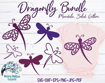 Download Dragonfly SVG DXF png Dragonfly Dragonfly Silhouette ...