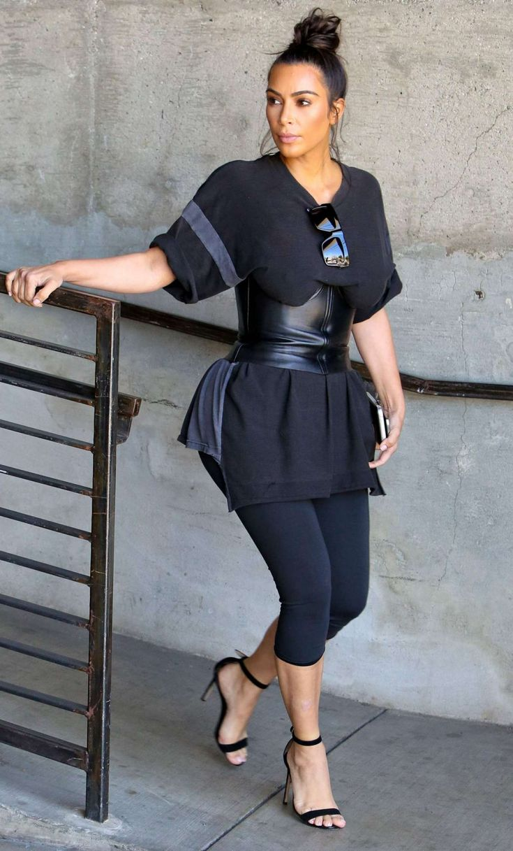 Kim Kardashian at Milk Studios in Los Angeles, July 20, 2016