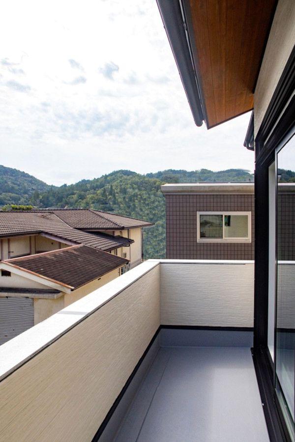 ベランダ バルコニー 事例集 京都で新築 建替えをお考えなら 注文