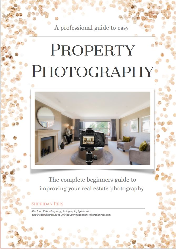 From Start to Finish this guide provides a list of camera equipment specifically for real estate photography. It also shares how to use your camera, what settings to apply for different occasions, what angles to shoot from, how to compose your photograph and advice on how to style and dress a room to make it appear bright, spacious and inviting. This guide has it all!