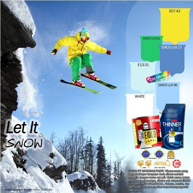 Warna logo Tour de Ski yang melambangkan sejarah dari keinginan masyarakat yang memberikan semangat baru untuk terus maju pada Tour de Ski hingga akhirnya mencapai usia 10 tahun. Jika Anda terinspirasi melalui warna salju, pilihan warna EMCO LUX 81, EMCO LUX 27, EMCO LUX 96 yang dipadankan dengan EMCO COLORAMA E07-43, E13-31, WHITE pada palet warna EMCO dapat menjadi alternatif terbaik untuk Anda. Untuk artikel menarik lainnya silahkan cek di http://matarampaint.com/news.php.  #emcolux #kayu