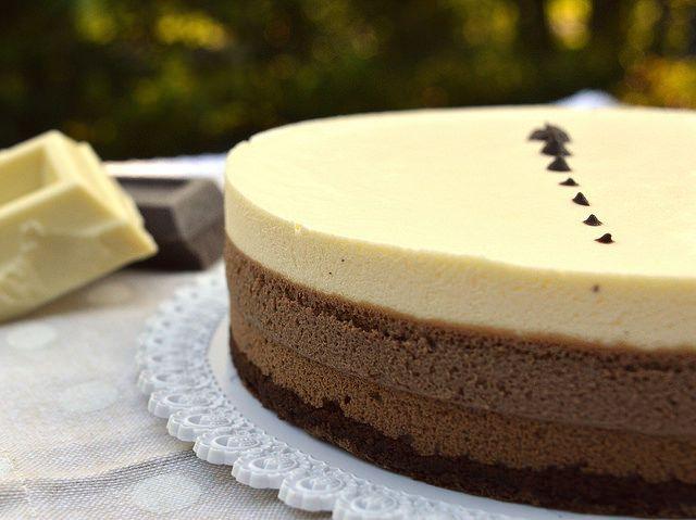 Ricette Bimby: Mousse ai Tre Cioccolati Bimby