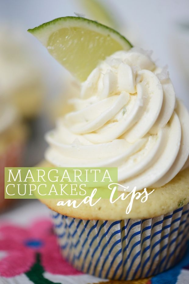 Our Margarita Cupcakes on Cupcakes & Cashmere | Elevate Everyday Life.