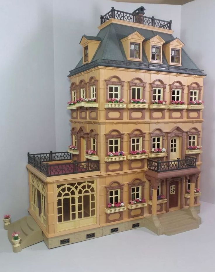 1177 best miniature houses rooms images on pinterest for Playmobil haus schlafzimmer