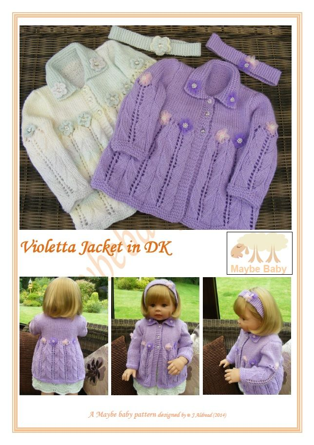 New for 2014 Baby & Toddler - MAYBE BABY DESIGNS Knitting Patterns for Baby