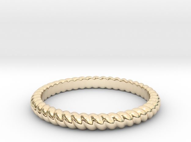 Lasso Rope Ring by Dyani + Jade