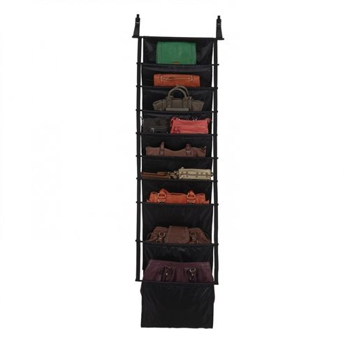 The new Umbra Slingo Organiser on sale for $65 at Contemporary Pieces is sure to keep the most disorganised person organised!  Featuring 12 compartments, it can be hung in the wardrobe or on the back of a door.  Unique design by David Quan.