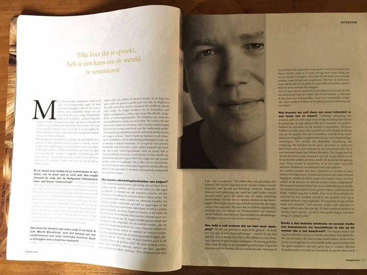 Artikel Happinez - Interview: vragen in vet
