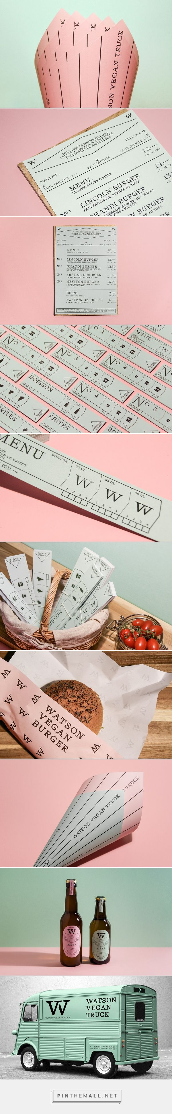 Watson Vegan Truck on Behance... - a grouped images picture - Pin Them All
