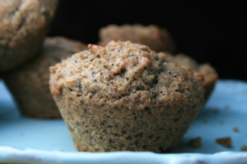 Healthy buckwheat muffins - Sugar, Dairy and Wheat free.    I added pureed butternut squash, ground chia seeds, and upped the cinnamon to 1 T.  So yummy fresh out of the oven with apricot jam!