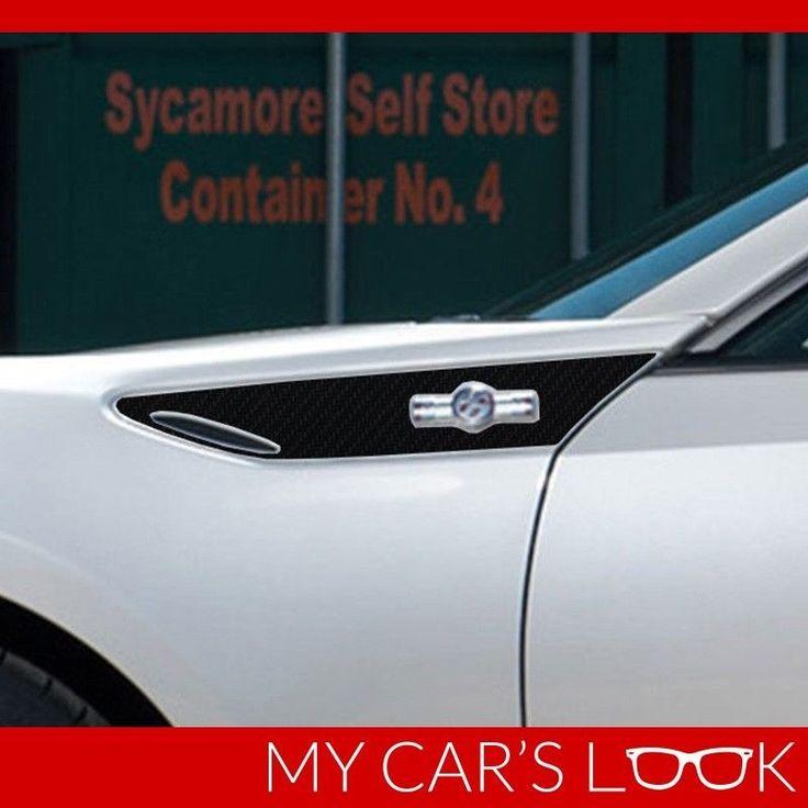 Toyota GT86, Scion FR-S, Subaru BRZ - 3D carbon vinyl fender decal #MyCarsLook