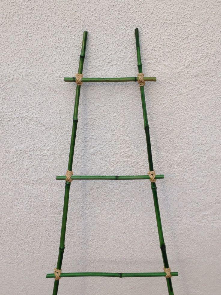 1000 ideas sobre escaleras de bamb en pinterest - Escalera de bambu ...