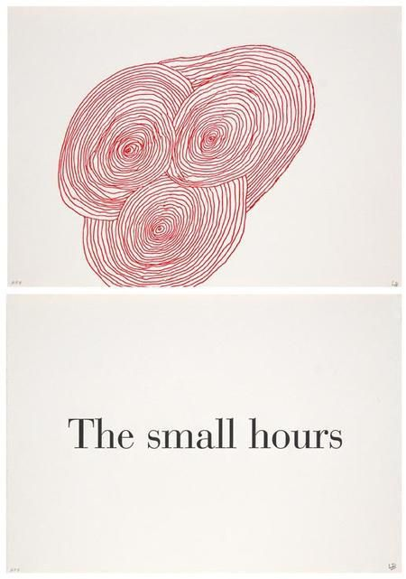 """9 Illustrations From Louise Bourgeois' Childhood Diary, """"What Is The Shape Of This Problem?"""" 