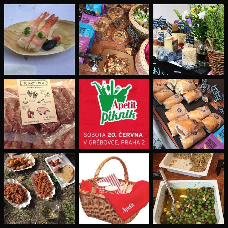 Apetit piknik 2015 - úžasná akce, překrásný den, výběr místa skvělý, jídlo&pití vynikající! Těším se na příští rok:-)