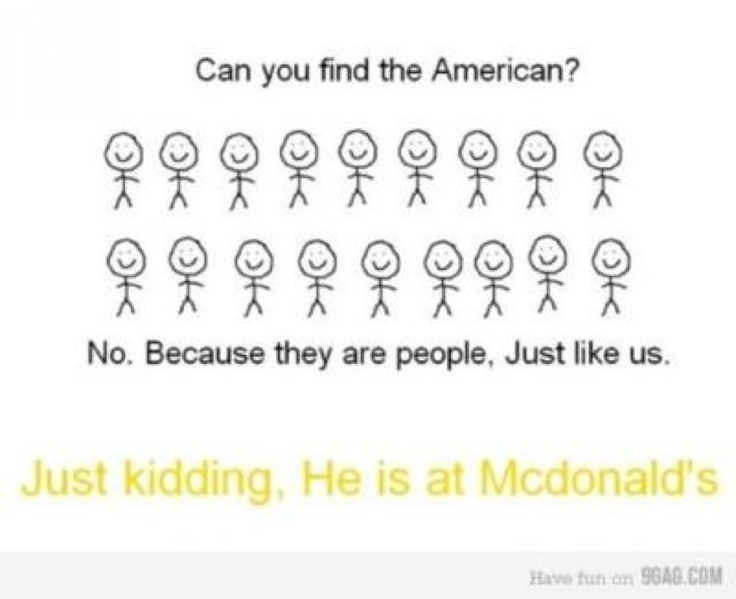 gotta love those america jokes