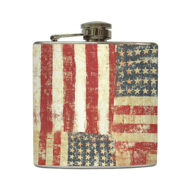 American Flag FlaskFlags Flasks, Blue Patriots, American Flags, Flasks Red, Flags Hip, Hip Flasks, Red White, Liquor Hip, Stainless Steel