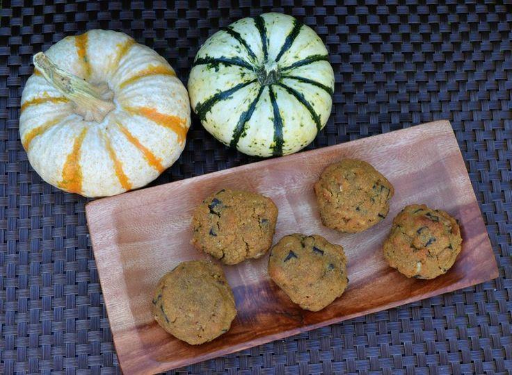 Coconut Flour Pumpkin Pecan Chocolate Chip Cookies  #ZestandZeal