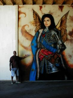 17 best images about michael jackson patron of the arts for Jackson 5 mural