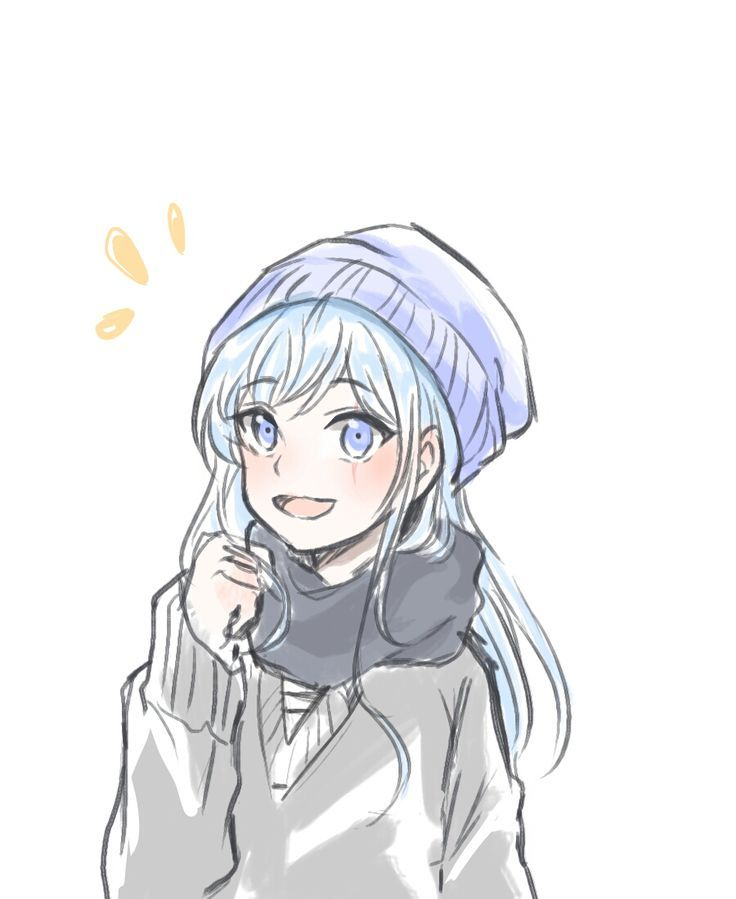 Image result for girl talking anime