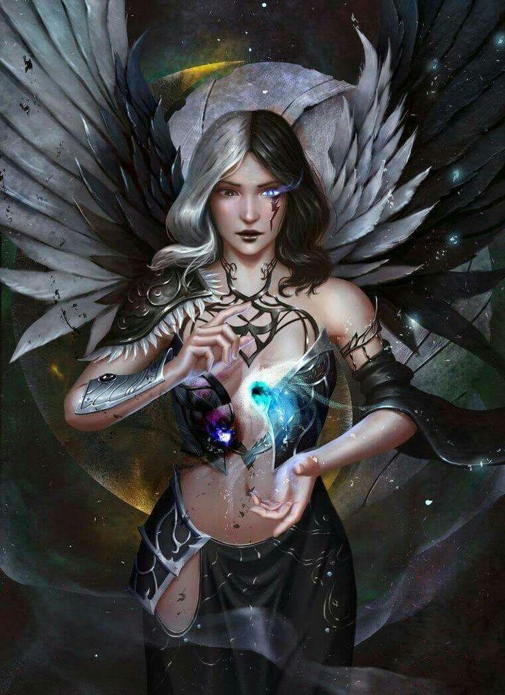 Aesthetic Girl Wallpaper Pin By Rachel Anita On Angels Warriors Dark Fantasy Art